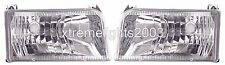 FLEETWOOD FLAIR 1999 2000 2001-2003 DIAMOND PAIR HEAD LIGHTS LAMPS RV HEADLIGHTS