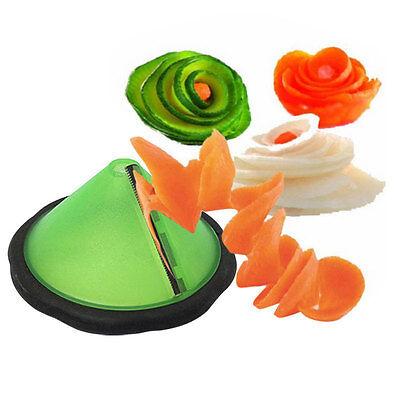 HOT Spiral Slicer Cutter Kitchen Tool Vegetable Fruit Spiralizer Twister Peeler