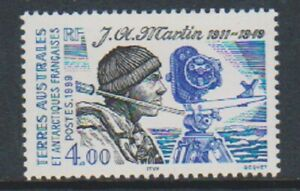 French-Antarctic-1999-4f-Jacques-Andre-Martin-stamp-MNH-SG-397