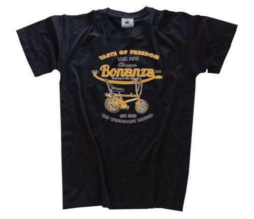 Touche of Freedom-BONANZA vélo chopper t-shirt s-xxxl