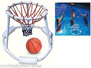 Pool Basketball Hoop Pool Basketball Game Swimming Pool Basketball Hoop Game 689992068177 Ebay