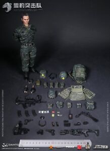Backpack PAP Snow Leopard 1//6 Scale Damtoys Action Figures