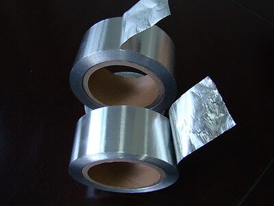 50mm x 50m High Quality Aluminium Tape Foil Insulation Self Adhesive Repair