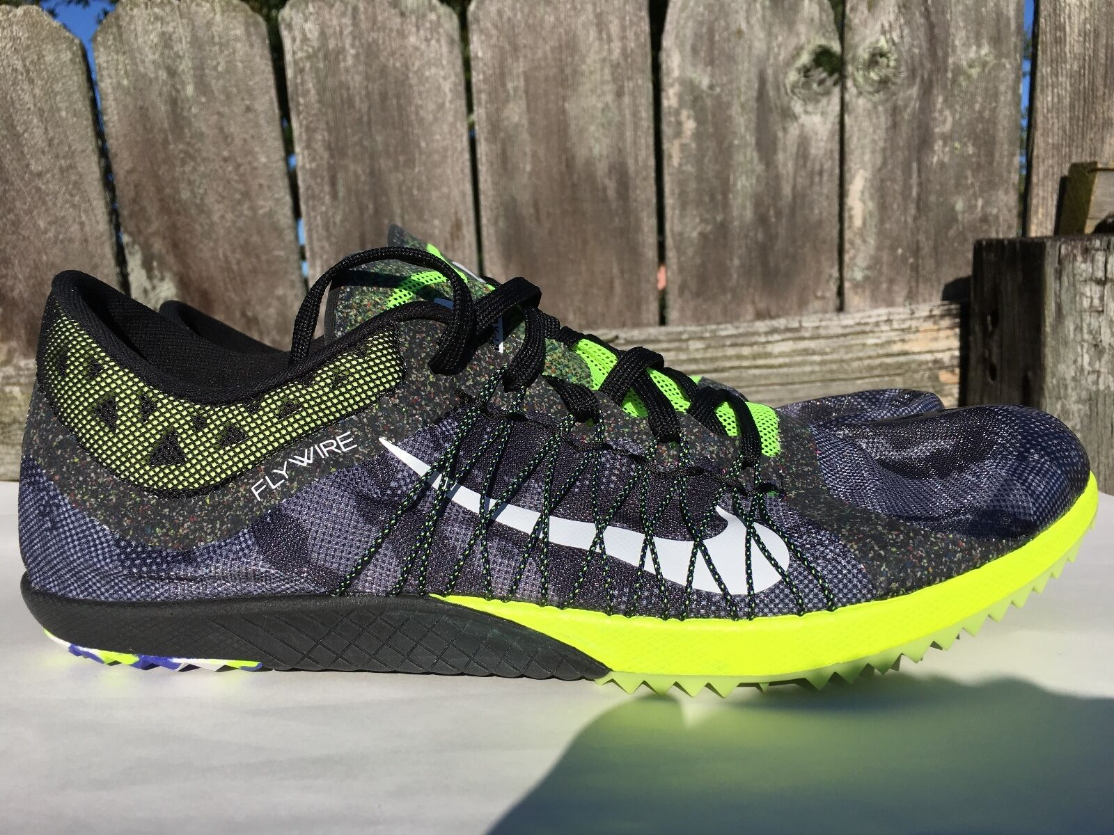 Men's Nike Victory Racing XC 3 Camo Track X Country Shoes Size 12.5 654693-017