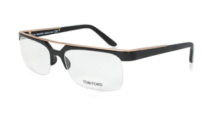 53843aaf93 Details about Authentic Tom Ford FT5069 - 0B5 Eyeglasses Black Gold  NEW   55mm