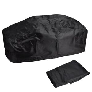 420D Waterproof Soft Winch Dust Cover Fits Driver Recovery 15000LB-17500LB Black