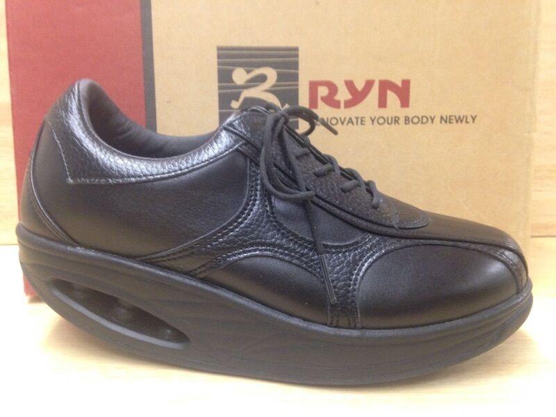 più economico Ryn Ryn Ryn Casual Dream Donna  nero Leather Dress scarpe W Extras US Dimensione 5.5  all'ingrosso a buon mercato