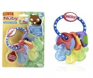 4 per case. Nuby Ice Gel Teether Keys