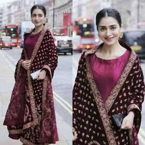 INDIAN-PARTWEAR-ANARKALI-DRESS-WOMEN-SALWAR-KAMEEZ-SUIT-SHARARA-PLAZZO-PAKISTANI