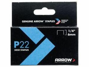 Arrow Box 5050 P22 Staples 6mm 1//4in