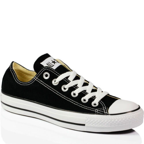 Converse Chuck Taylor All Star Ox Shoes Black M9166 Sneaker Trainers UK 4