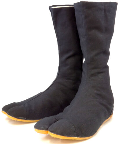 Rikio Ninja Tabi Fighter Chaussures//Split Toe Toile Bottes
