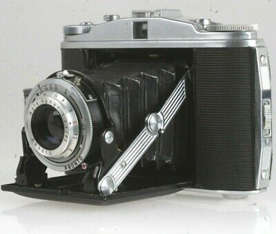 Agfa Isolette Ii Mit 4,5/85mm Agnar Optik (6x6cm) Niedriger Preis