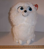Ty Beanie Buddy Secret Life Of Pets Movie Gidget The Dog Plush White 9 Toy
