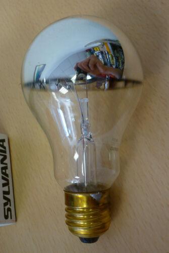 Sylvania Ampoule e27 100w clair asymétrique argent courbes à point haut miroir kopfspiegel