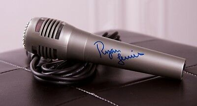 Ryan Lewis Gfa Macklemore Group Signed New Microphone Ad1 Coa Crazy Price