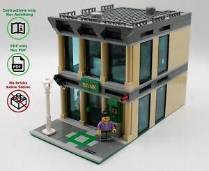 LEGO-City-Bank-MOC-building-instructions-modular-building-no-bricks-included