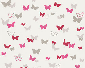 Esprit-Kids-4-Esprit-home-A-S-Creation-Vliestapete-Sweet-Butterfly-in-2-Farben