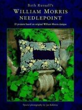 William Morris Needlepoint by Beth Russell (1995, Hardcover)