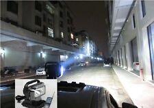 75W 360º HID XENON ROTATING REMOTE CONTROL SEARCHLIGHT, AUTO 4WD BOAT SPOT LIGHT