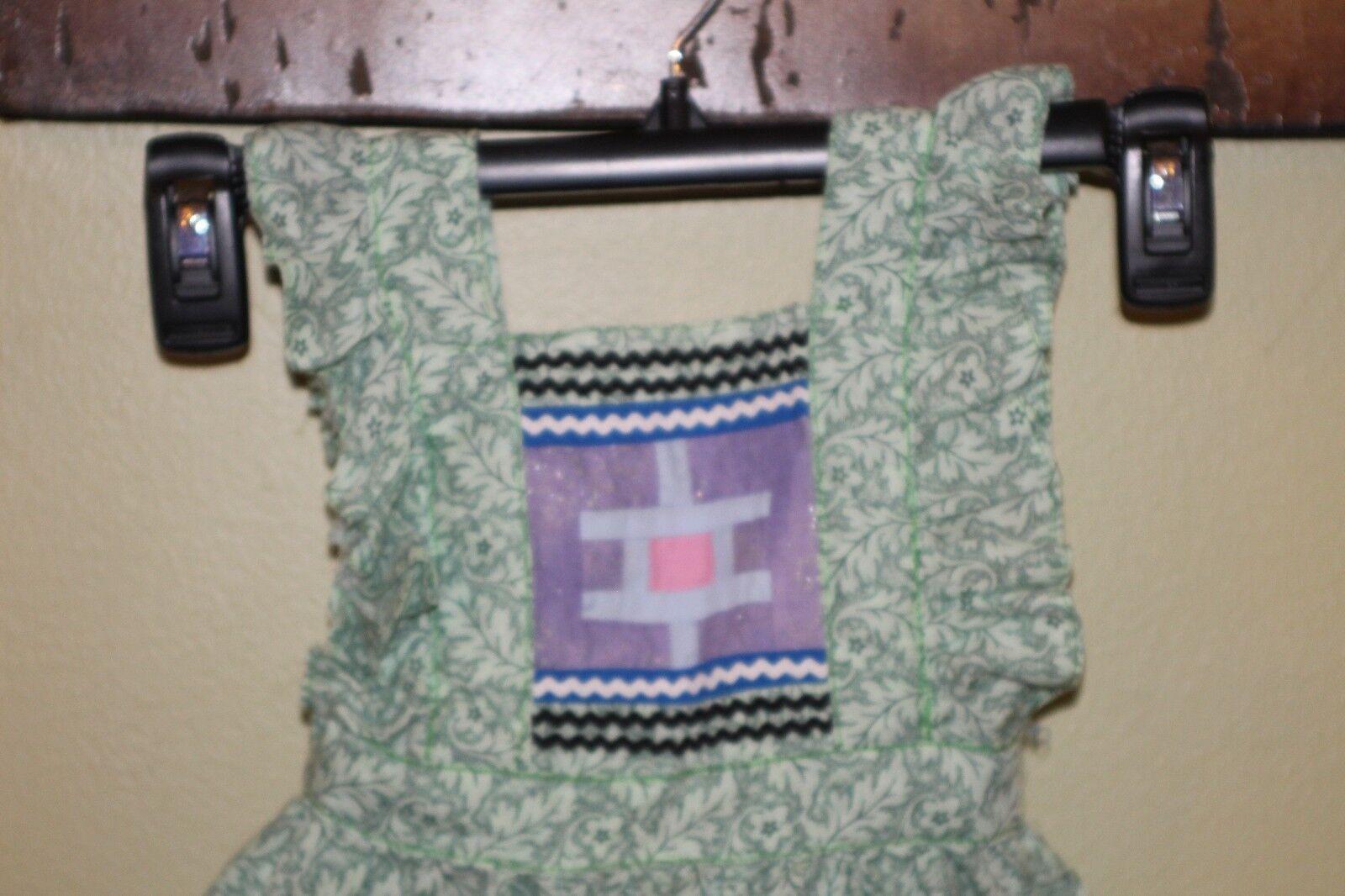 Miccosukee Seminole Handmade Patchwork Infant Dre… - image 2