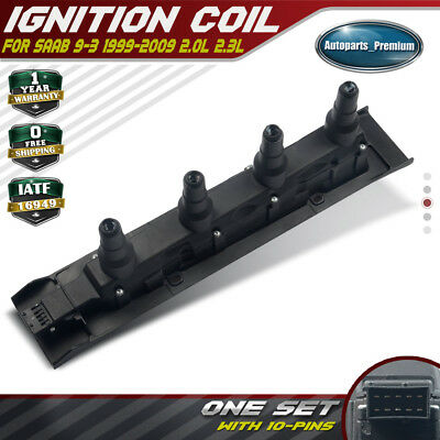 Ignition Coil Cassette Pack Fit Saab 9-3 9-5 2.0L 2.3L L4 55559955 OE Quality