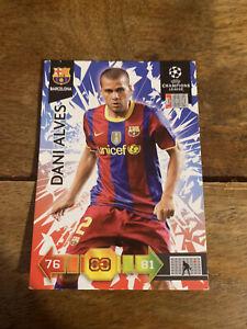 Dani Alves Soccer Panini Card 2010/11 Season