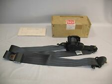 New OEM 1985-1989 Isuzu I-Mark Front Driver Seat Belt with Instal Instructions