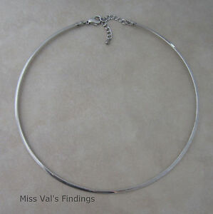 1-stainless-steel-neckwire-necklace-choker-base-with-extender