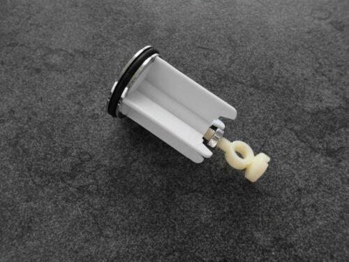 Waschbecken Stopfen Stöpsel chrom f Excenter Ablaufgarnitur Waschtisch Abfluß L
