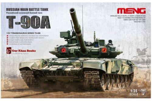 Meng TS-006 1//35 RUSSIAN BATTLE TANK T-90A