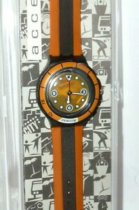 SWATCH Orologio swatchuhr SHB 104 ACCESS KEY WATCH in Process MONTRE NEW BOX MARRONE