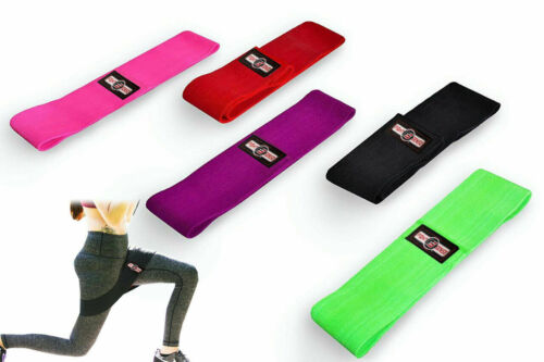 Best Resistance BAND HIP Circle FITNESS LOOP Peach Booty SQUAT Lunge Gym NonSLIP