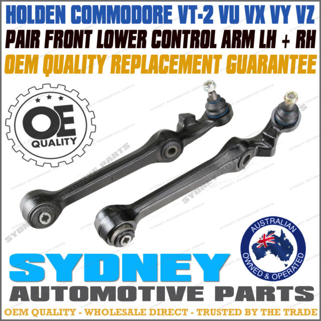 2 Holden Commodore Front Lower Control Arms Ball Joints VT2 VU VX VY VZ 97-06