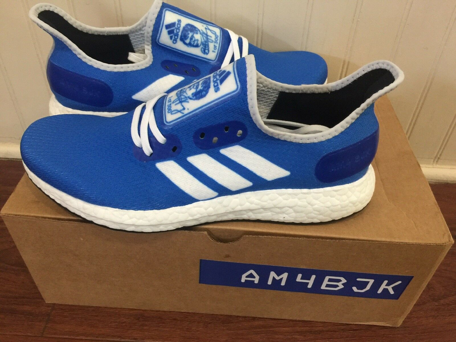 ADIDAS SPEEDFACTORY AM4BJK (BILLIE JEAN KING) SIZE 8, 1 OF ONLY 300 MADE
