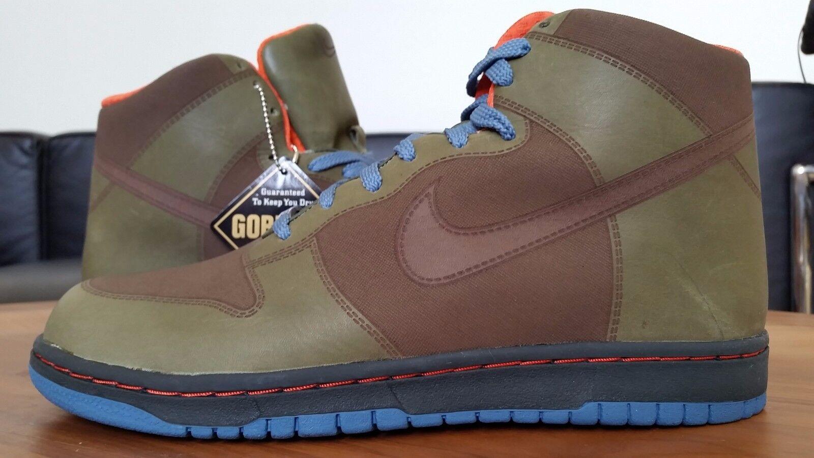 DS 2007  Nike Dunk Hi 1 Piece GORETEX ACG 314413 321 9