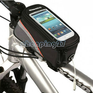 12496M-C5 Bike Bicycle Frame Front Tube Bag Phone Case For iphone6s plus /5s/4s