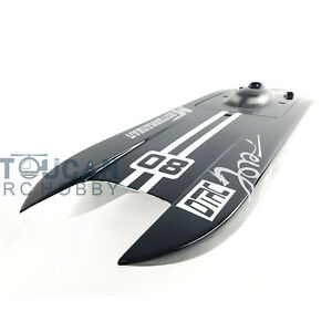 Details about E32 Germany Cat Painted Electric Boat Hull for Advanced  Player Catamaran KIT Blk