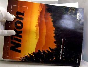 """Destination Nikon"" Full Line Product guide Catalogue  Volume 5 120 color pages"