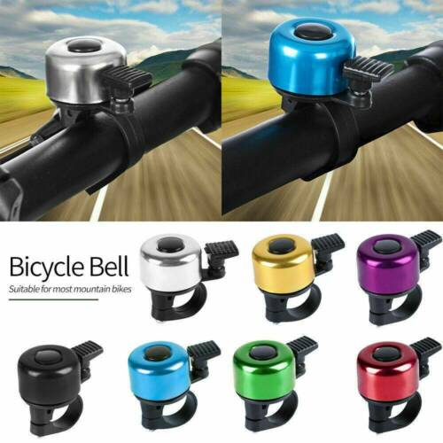 Mini Bicycle Handlebar Bell Touch Ring Aluminium Alloy Bike Cycling Horn Cute .t