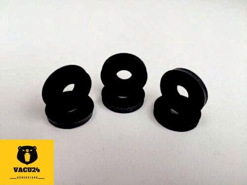 23x8x3 mm Gummi Unterlegscheiben 100 Stück Gummischeiben M8 Dichtringe