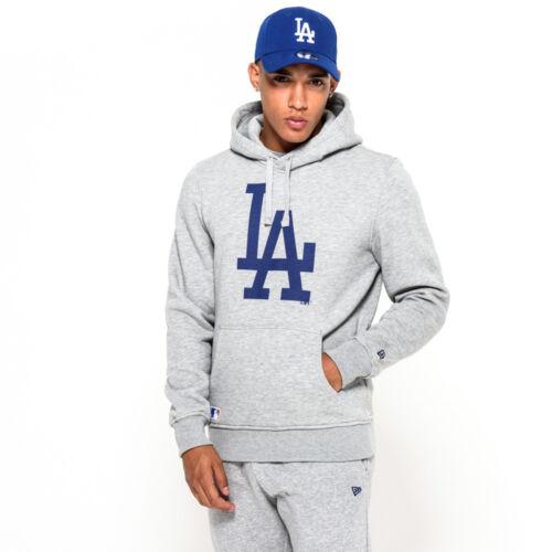 New Era LA Dodgers Pullover Hoodie Grey