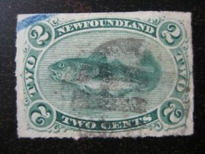 NEWFOUNDLAND-Sc-38-scarce-used-stamp-2-SCV-45-00