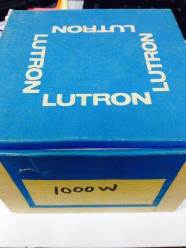 LUTRON NOVA NLV-1000 WHITE 1000 WATT DIMMER