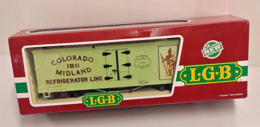 LGB 4072P 02 Coloreeado 1211 MIDLe refrigerator LINE autori merci Traccia G Nuovo