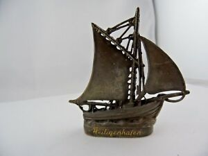 Miniatur-Schiff-Heiligenhafen-Andenken-Adelsbesitz