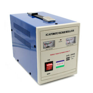 2000 Watt Step Down 220 to 110 Power Voltage Converter Transformer Stabilizer