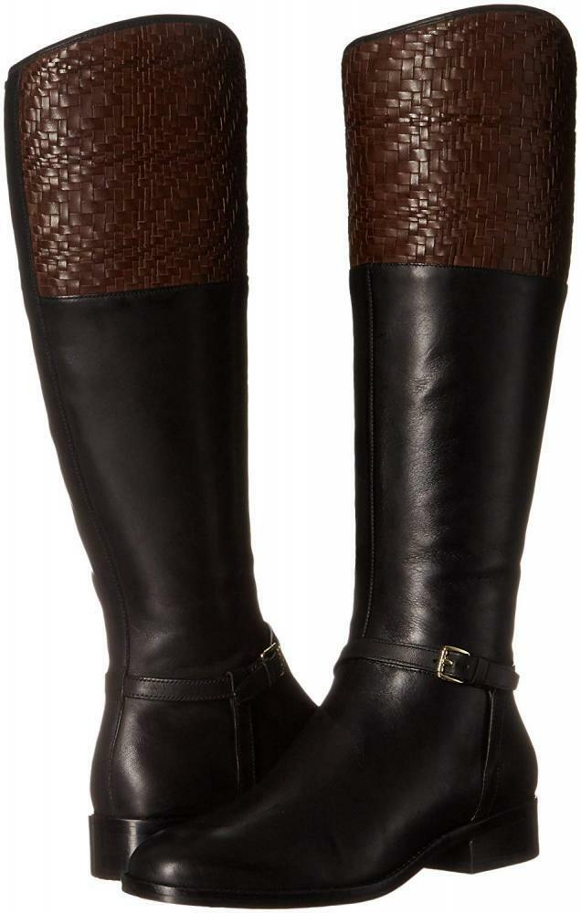 Cole Haan Women's Genevieve Weave Riding Boot Boot Boot a88c1a