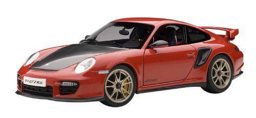 bilkonsten 1  18 Porsche 911 (997) Gt2 R (röd)