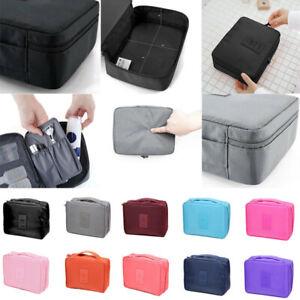 e3cab14a3c03 Expandable Ladies Mens Wash Bag Travel Toilet Bag Toiletries Makeup ...